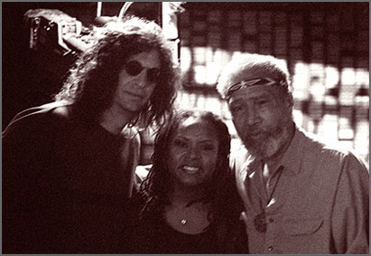 Howard Stern and Riley Martin